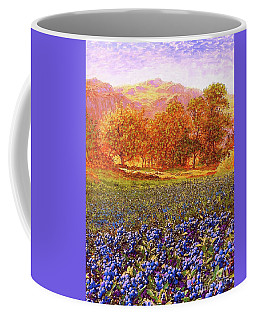 Blueberry Fields Season Of Blueberries Coffee Mug
