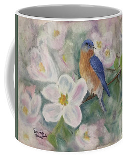 Bluebird Vignette Coffee Mug