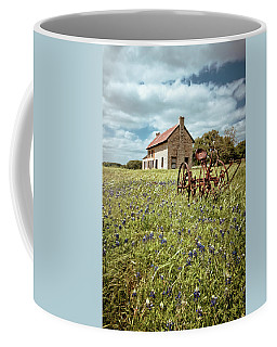 Coffee Mug featuring the photograph Bluebonnet Fields by Linda Unger