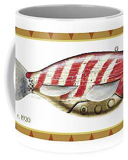 Bluegill Ice Spearing Decoy Coffee Mug