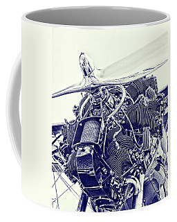 Blueprint Radial Coffee Mug