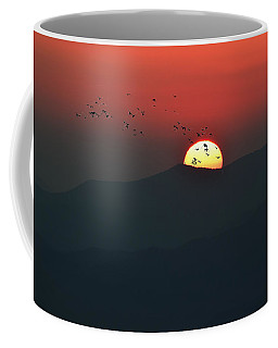 Blue Ridge Sunset Coffee Mug
