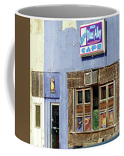 Coffee Mug featuring the photograph Blues Alley, Clarksdale by Rosanne Licciardi