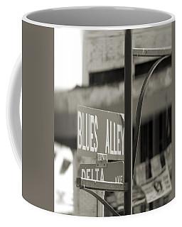 Blues Alley Street Sign Coffee Mug