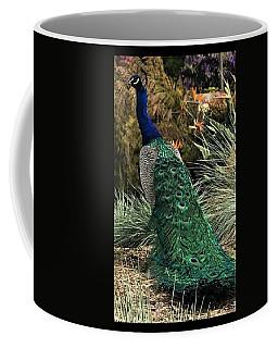 Blues And Greens Coffee Mug by Kruti Shah