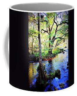 Blues In Florida Swamp Coffee Mug