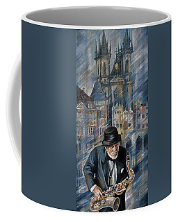 Blues Of Prague. Coffee Mug