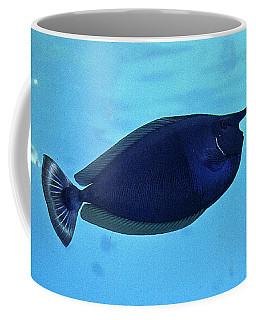 Bluespine Unicorn Fish Coffee Mug