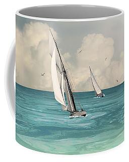 Bluewater Cruising Sailboats Coffee Mug