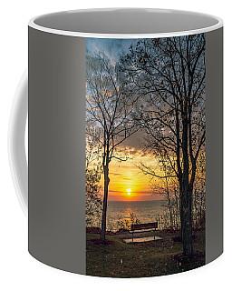 Bluff Bench Coffee Mug by James  Meyer