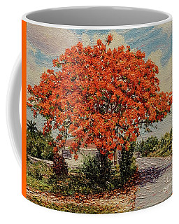 Bluff Poinciana Coffee Mug