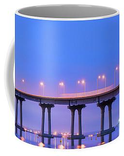 Blur On The Bridge Coffee Mug