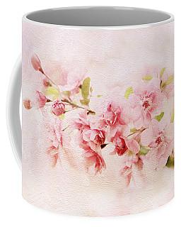 Blushing Blossom Coffee Mug by Jessica Jenney