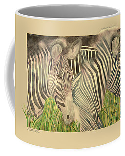 Blushing Stripes Coffee Mug