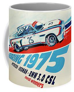 Bmw 3.0 Csl Sebring 1975 Peterson Redman Coffee Mug