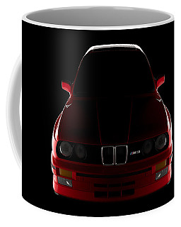 Bmw M3 E30 - Front View Coffee Mug