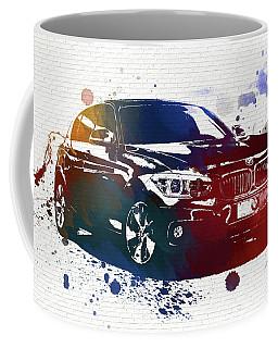Bmw Watercolor Splash On Brick Coffee Mug by Dan Sproul