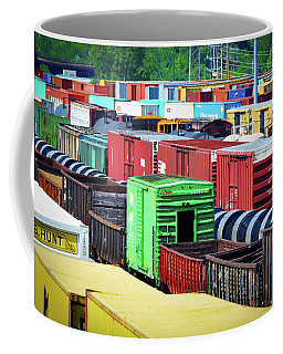 Bnsf Lindenwood Yard Coffee Mug