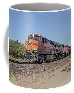 Coffee Mug featuring the photograph Bnsf7890 by Jim Thompson