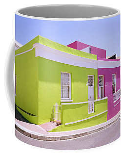 Bo Kaap Color Coffee Mug by Shaun Higson