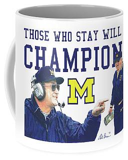 Bo Schembechler Coffee Mug