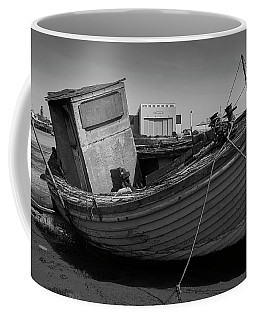 Coffee Mug featuring the photograph Boarded Up by Keith Elliott