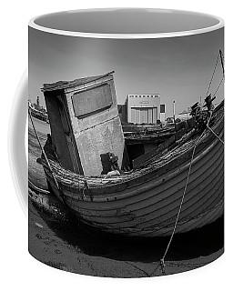 Boarded Up Coffee Mug by Keith Elliott