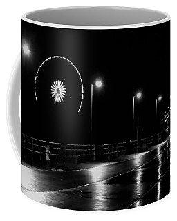 Boardwalk Amusement At Night Coffee Mug