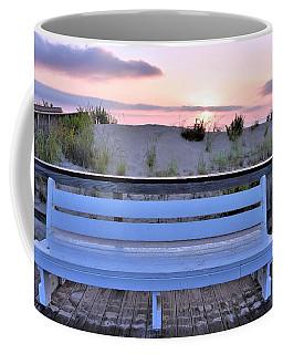 A Welcome Invitation -  The Boardwalk Bench Coffee Mug