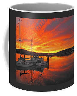 Boardwalk Brilliance With Fish Ring Coffee Mug