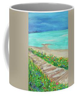 Boardwalk In Carmel Coffee Mug