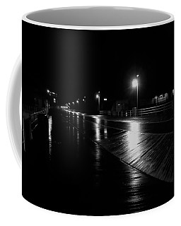 Boardwalk In The Still Of The Night Coffee Mug