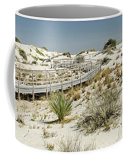 Boardwalk On The Sands Coffee Mug