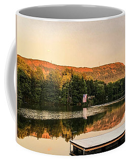 Boardwalk Sunset Coffee Mug