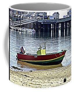 Boat At The Beach Provincetown Coffee Mug