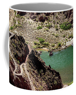 Boat Beach On The Colorado River Coffee Mug