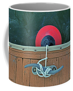 Coffee Mug featuring the photograph Boat Bumper by Kay Lovingood