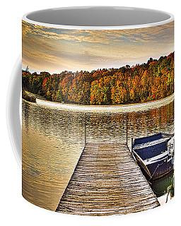 Boat Dock Le-aqua-na II Coffee Mug
