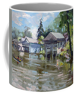 Boat Houses Coffee Mug