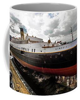 Boat In Drydock Coffee Mug