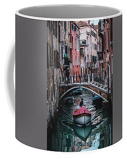 Boat On The River Coffee Mug