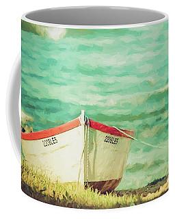 Boat On The Shore Coffee Mug