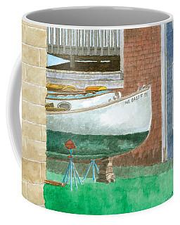 Boat Out Of Water - Portland Maine Coffee Mug