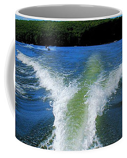 Boat Wake Coffee Mug