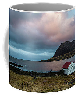 Boathouse At Sunrise Coffee Mug