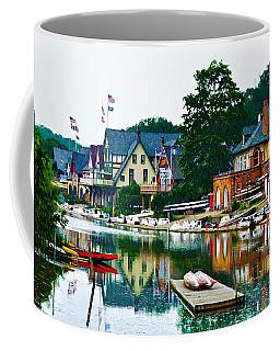 Boathouse Row In Philly Coffee Mug