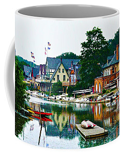 Boathouse Row In Philly Coffee Mug