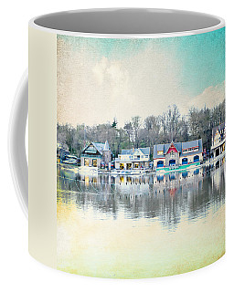 Boathouse Row Philadelphia Pa V1 Coffee Mug