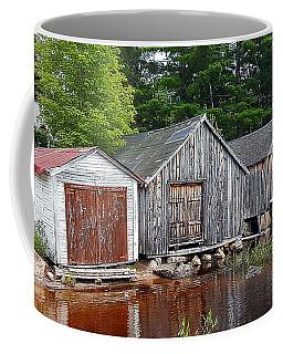 Boathouses - Mcadam Nb Coffee Mug
