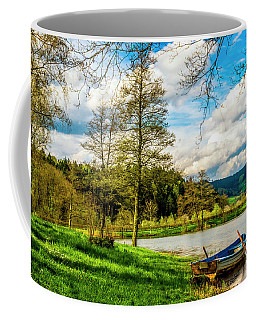 Boating On Golden Pond 254  Coffee Mug